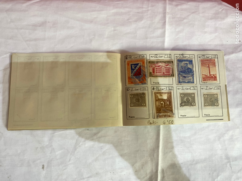 Sellos: Álbum de sellos dominicana catalogado . Ver fotos - Foto 6 - 261793440