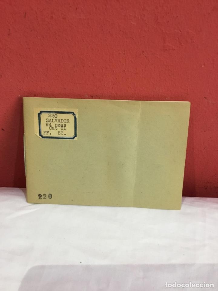 Sellos: Álbum de sellos Salvador antiguos. Catalogados. Ver fotos - Foto 2 - 261808520