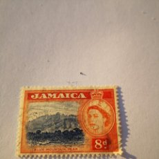 Sellos: SELLO JAMAICA 8D BLUE MONTAIN PEAK. Lote 261864330