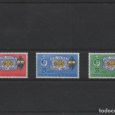 Sellos: SERIE COMPLETA NUEVA DE TRINIDAD Y TOBAGO DE 1964. TEMA ESCOUTISMO. Lote 262614110