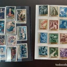 Sellos: COLECCIÓN PINTURA ESPAÑOLA. VER DESCRIPCIÓN Y FOTOS. Lote 262757035