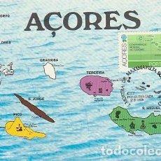 Sellos: PORTUGAL & MAXI, ARCHIPIÉLAGO DE AZORES, EXPOSICIÓN MAXIFILIA DE TURISMO, PONTA DELGADA 1980 (1571. Lote 262779375
