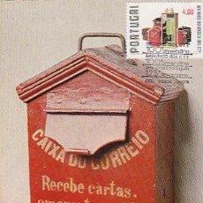 Sellos: PORTUGAL & MAXI, 100 AÑOS DEL MUSEO CTT, BUZÓN ANTIGUO, LISBOA 1978 (467534). Lote 262784090
