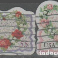Sellos: LOTE (4) SELLOS ESTADOS UNIDOS. Lote 263712705