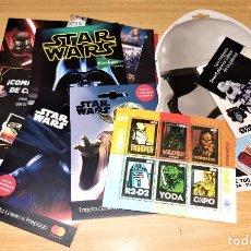Sellos: STAR WARS. SELLOS 3D CORREOS Y OTRAS PUBLICIDADES RECIENTES. Lote 288577133