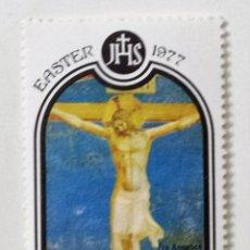 Sellos: SELLO DE GRANADA GRANADINAS 1 C - 1977 - PASCUA - NUEVO SIN SEÑAL DE FIJASELLOS. Lote 269091043