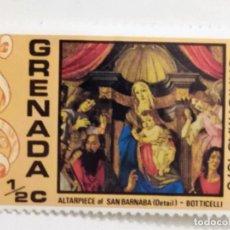 Sellos: SELLO DE GRANADA 1/2 C - 1976 - NAVIDAD - NUEVO SIN SEÑAL DE FIJASELLOS. Lote 269211593