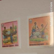Sellos: SELLOS. JAMBOREE SCOUT. REPUBLIQUE TOGOLAISE. Lote 269251913
