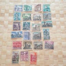 Sellos: LOTE 23 SELLOS ESPAÑA. SERIE MONUMENTOS.. Lote 270216848