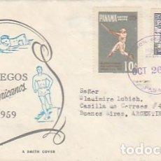 Sellos: PANAMA & FDC III JUEGOS PANAMERICANOS, BUENOS AIRES ARGENTINA 1959 (7869). Lote 270921548