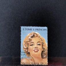 Sellos: SELLO S TOME E PRINCIPE - MARILYN MONROE- STE. Lote 277040153