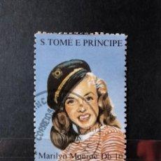 Sellos: SELLO S TOME E PRINCIPE - MARILYN MONROE- STE. Lote 277040238