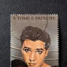 Sellos: SELLO S TOME E PRINCIPE -ELVIS PRESLEY- STE. Lote 277040583