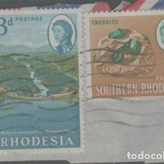 Sellos: LOTE X-SELLOS RHODESIA. Lote 277080888