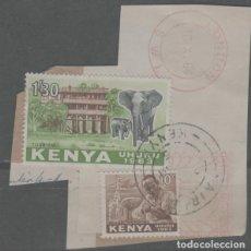 Sellos: LOTE X-SELLOS KENYA. Lote 277082193