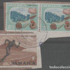 Sellos: LOTE X-SELLOS JAMAICA. Lote 277082838