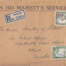 Sellos: CORREO AEREO: JAMAICA 1944. Lote 277116303