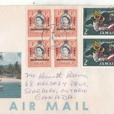 Sellos: CORREO AEREO: JAMAICA 1963 INDEPENDENCIA. Lote 277132598