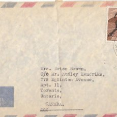 Sellos: CORREO AEREO: JAMAICA 1967. Lote 277220363