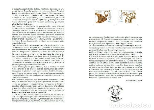 Sellos: Portugal & PGS Joyas del Mediterráneo 2021 (9799) - Foto 2 - 278212653
