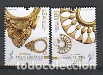 PORTUGAL ** & JOYAS DEL MEDITERRÁNEO 2021 (9799) (Sellos - Temáticas - Varias)