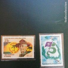 Selos: SELLOS. JAMBOREE SCOUT. COCOS KEELING ISLANDS. Lote 283668143