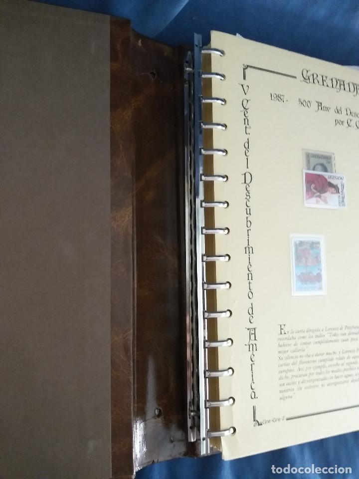 Sellos: España Lote sellos Resto colección descubrimiento América nuevo ***muy bonito Álbum De lujo - Foto 5 - 286828943