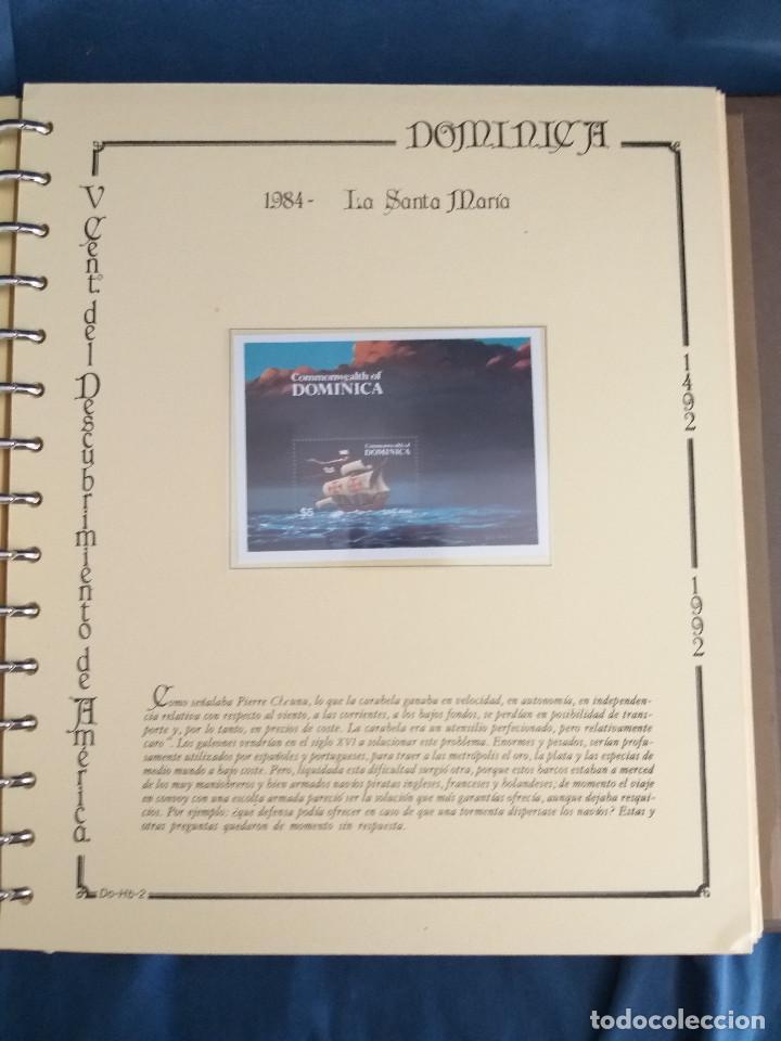 Sellos: España Lote sellos Resto colección descubrimiento América nuevo ***muy bonito Álbum De lujo - Foto 17 - 286828943