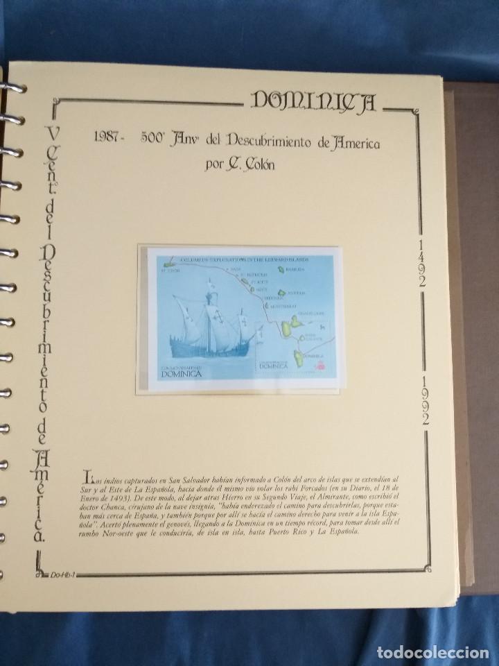 Sellos: España Lote sellos Resto colección descubrimiento América nuevo ***muy bonito Álbum De lujo - Foto 21 - 286828943