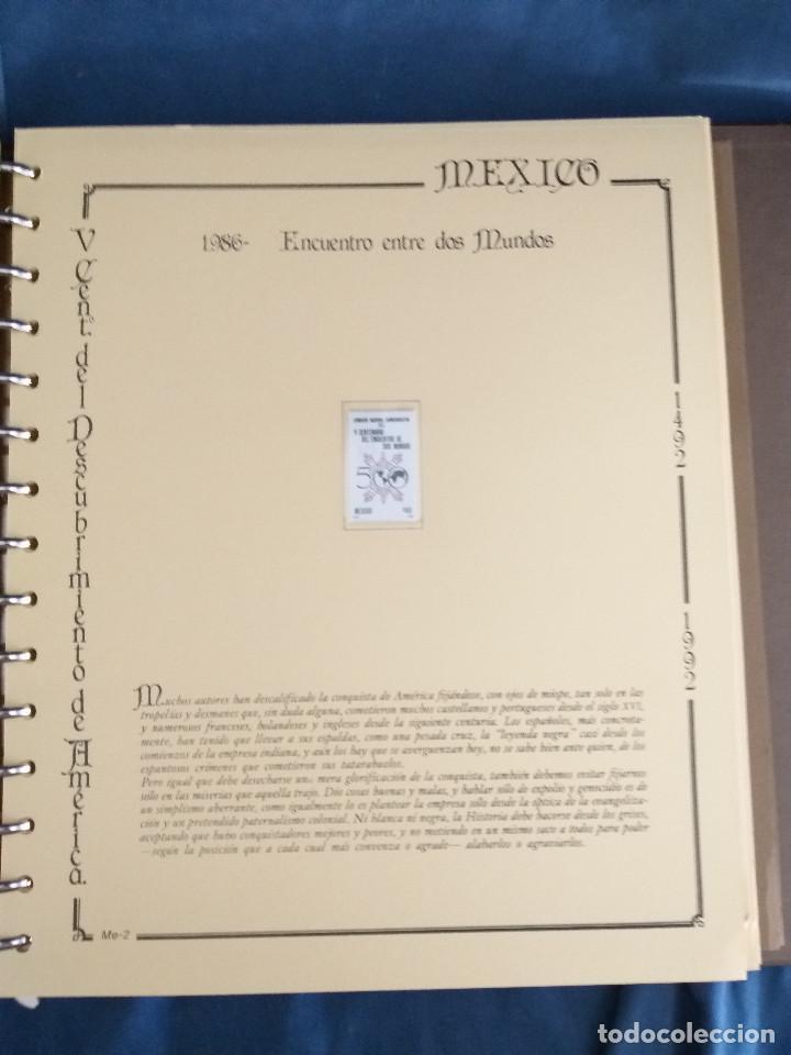 Sellos: España Lote sellos Resto colección descubrimiento América nuevo ***muy bonito Álbum De lujo - Foto 27 - 286828943