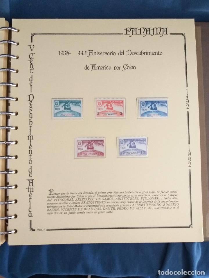 Sellos: España Lote sellos Resto colección descubrimiento América nuevo ***muy bonito Álbum De lujo - Foto 30 - 286828943