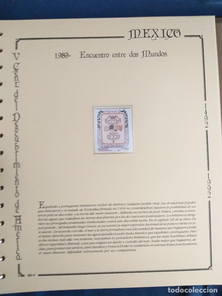 Sellos: España Lote sellos Resto colección descubrimiento América nuevo ***muy bonito Álbum De lujo - Foto 34 - 286828943