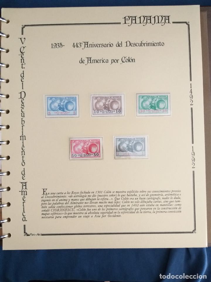 Sellos: España Lote sellos Resto colección descubrimiento América nuevo ***muy bonito Álbum De lujo - Foto 36 - 286828943