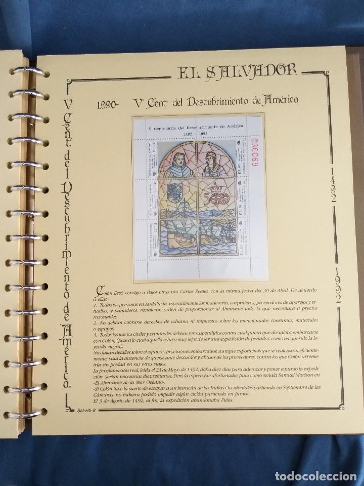Sellos: España Lote sellos Resto colección descubrimiento América nuevo ***muy bonito Álbum De lujo - Foto 40 - 286828943