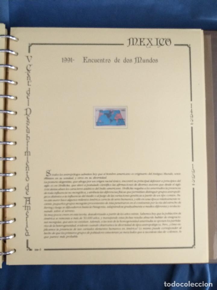 Sellos: España Lote sellos Resto colección descubrimiento América nuevo ***muy bonito Álbum De lujo - Foto 41 - 286828943