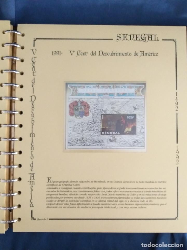 Sellos: España Lote sellos Resto colección descubrimiento América nuevo ***muy bonito Álbum De lujo - Foto 42 - 286828943