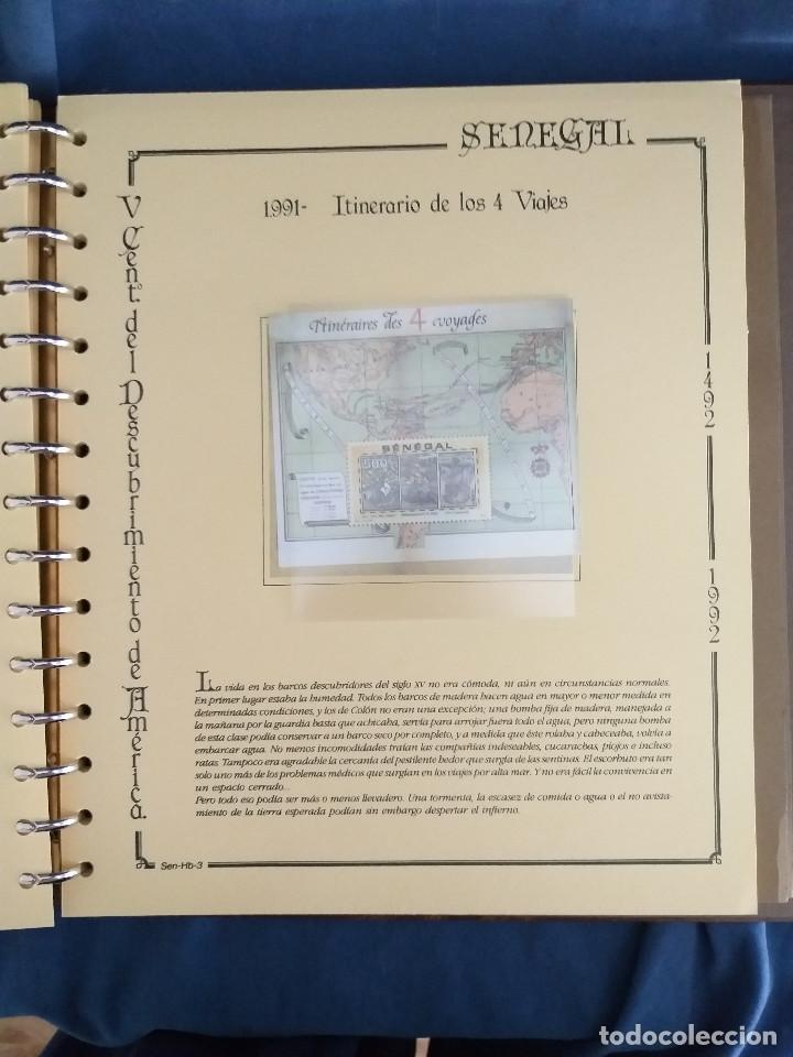 Sellos: España Lote sellos Resto colección descubrimiento América nuevo ***muy bonito Álbum De lujo - Foto 44 - 286828943