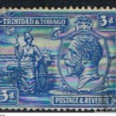 Sellos: TRINIDAD Y TOBAGO // YVERT 114 // 1922 ... USADO. Lote 287946488
