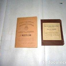 Sellos: ANTIGUA LIBRETA CAJA NACIONAL DE AHORRO POSTAL ANO 1943. Lote 288295408