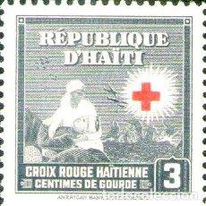 Sellos: HAITI SELLO MINT CRUZ ROJA ENFERMERA SOLDADO ANO 1945. Lote 288295423