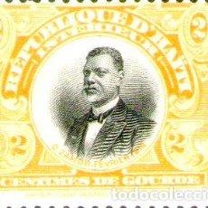 Sellos: HAITI SELLO MINT NO CIRCULADO ORESTE ZAMOR ANOS 1915 16. Lote 288295698