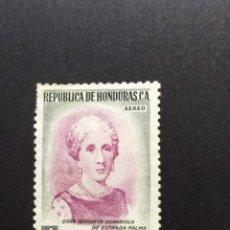 Sellos: ## HONDURAS NUEVO 1956 GENOVEVA GUARDIOLA 4C ##. Lote 288315423
