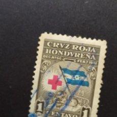 Sellos: ## HONDURAS USADO 1941 CRUZ ROJA 1C ##. Lote 288316678