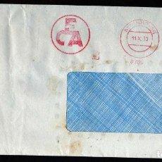 Sellos: GIROEXLIBRIS. METER - STAMPS.- MATASELLOS MECÁNICOS DE ECA CIRCULADO EN MADRID EN 1973. Lote 289547488