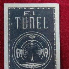 Sellos: SELLO EL TUNEL AMERICA EUROPA NOVELA BERNARDO KELLERMANN 5 PESETAS. Lote 289630463