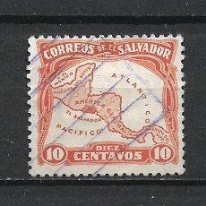 Sellos: EL SALVADOR SELLO USADO - 15/35. Lote 289658433