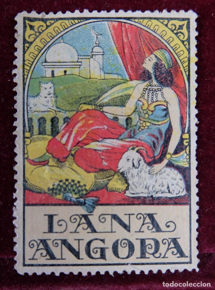 SELLO LANA ANGORA (Sellos - Temáticas - Varias)