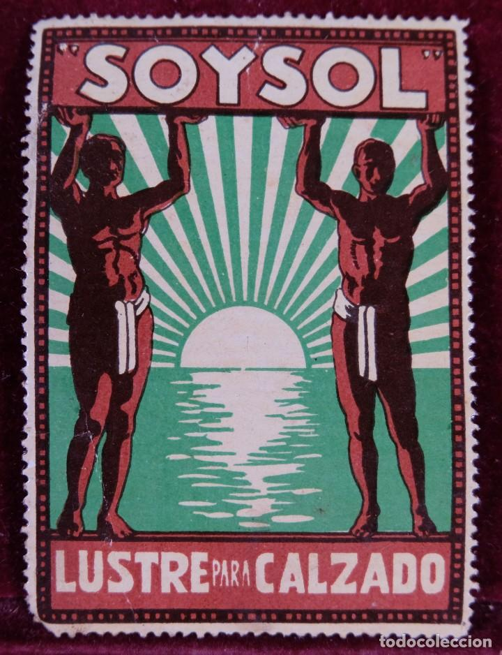 SELLO SOYSOL LUSTRE PARA CALZADO (Sellos - Temáticas - Varias)