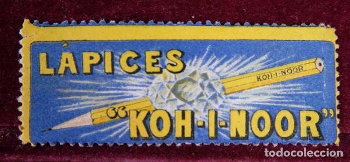 SELLO LAPICES KOH I NOOR (Sellos - Temáticas - Varias)