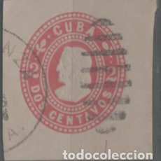 Timbres: LOTE Q-SELLO CUBA DE ENTERO POSTAL. Lote 292590648